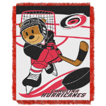 NHL Carolina Hurricanes Baby Blanket