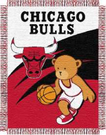 NBA Chicago Bulls Baby Blanket