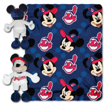 MLB Cleveland Indians Disney Mickey Mouse Hugger