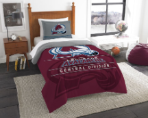 NHL Colorado Avalanche Twin Comforter Set