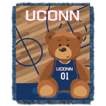 NCAA Connecticut Huskies Baby Blanket