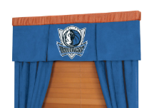 NBA Dallas Mavericks Valance - MVP Series