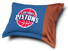 NBA Detroit Pistons Pillow Sham - MVP Series