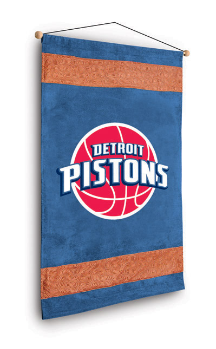NBA Detroit Pistons Wall Hanging - MVP Series