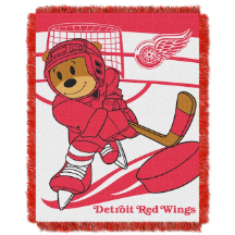 NHL Detroit Red Wings Baby Blanket