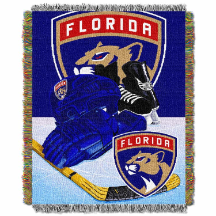 NHL Florida Panthers Home Ice Advantage 48x60 Tapestry Throw