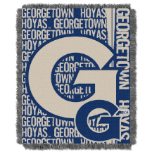 NCAA Georgetown Hoyas FOCUS 48x60 Triple Woven Jacquard Throw