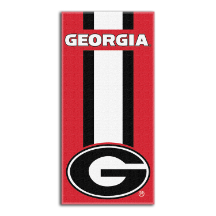 NCAA Georgia Bulldogs Beach Towel
