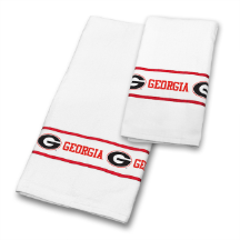 NCAA Georgia Bulldogs Bath Towel Set