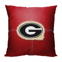 NCAA Georgia Bulldogs 18x18 Letterman Pillow
