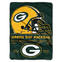 NFL Green Bay Packers 60x80 Super Plush Throw Blanket