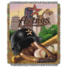 MLB Houston Astros Home Field Advantage 48x60 Tapestry Throw