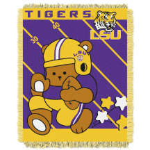 NCAA LSU Tigers Baby Blanket