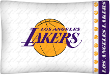 NBA Los Angeles Lakers Micro Fiber Pillow Cases (set of 2)