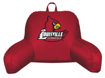 NCAA Louisville Cardinals Bed Rest Pillow