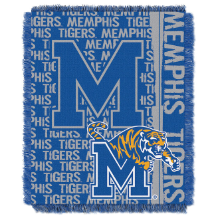 NCAA Memphis Tigers FOCUS 48x60 Triple Woven Jacquard Throw