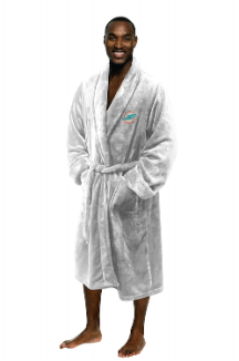 NFL Miami Dolphins Silk Touch Bath Robe (MENS LARGE/XL)