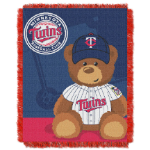 MLB Minnesota Twins Baby Blanket