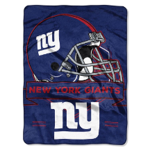 NFL New York Giants 60x80 Super Plush Throw Blanket