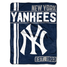 MLB New York Yankees 50x60 Micro Raschel Throw