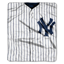MLB New York Yankees 50x60 Raschel Throw