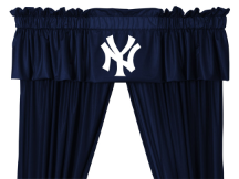 MLB New York Yankees Valance - Locker Room Series