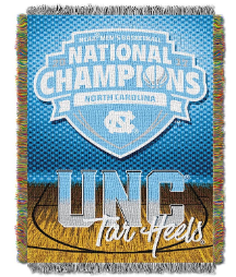 NCAA North Carolina Tar Heels 2017 NCAA Basketball Champs Commemorative Tapestry
