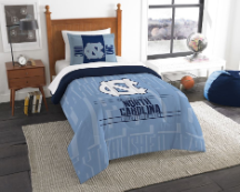 NCAA North Carolina Tar Heels Twin Comforter Set