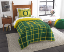 NCAA Oregon Ducks TWIN Size Bed In A Bag