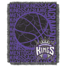 NBA Sacramento Kings 48x60 Triple Woven Jacquard Throw