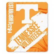 NCAA Tennessee Volunteers 50x60 Fleece Throw Blanket