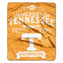 NCAA Tennessee Volunteers 50x60 Raschel Throw Blanket