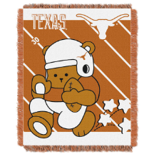 NCAA Texas Longhorns Baby Blanket