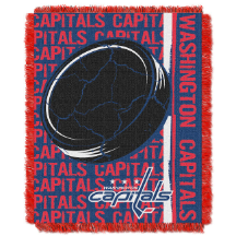 NHL Washington Capitals 48x60 Triple Woven Jacquard Throw