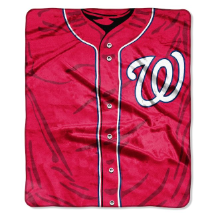 MLB Washington Nationals 50x60 Raschel Throw