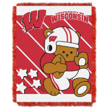 NCAA Wisconsin Badgers Baby Blanket