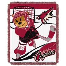 NHL Arizona Coyotes Baby Blanket