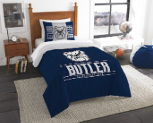 NCAA Butler Bulldogs Twin Comforter Set