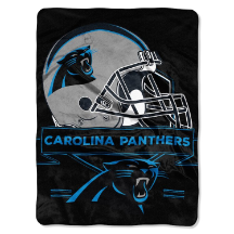 NFL Carolina Panthers 60x80 Super Plush Throw Blanket