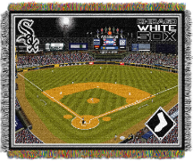 MLB Chicago White Sox Stadium 48x60 Tapestry Throw