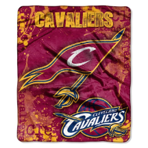 NBA Cleveland Cavaliers REFLECT 50x60 Raschel Throw