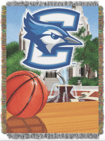 NCAA Creighton Blue Jays Home Field Advantage 48x60 Tapestry Throw