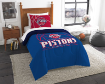 NBA Detroit Pistons Twin Comforter Set