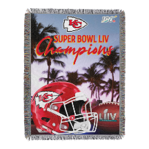 NFL Kansas City Chiefs Super Bowl 54 Champions Commemorative Tapestry