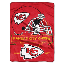 NFL Kansas City Chiefs 60x80 Super Plush Throw Blanket