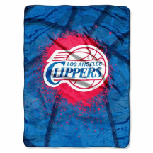 NBA Los Angeles Clippers SHADOW 60x80 Super Plush Throw