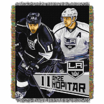 NHL Los Angeles Kings Anze Kopitar 48x60 Tapestry Throw