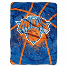 NBA New York Knicks SHADOW 60x80 Super Plush Throw