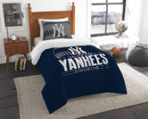 MLB New York Yankees Twin Comforter Set