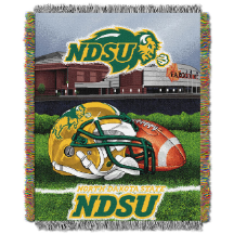 NCAA North Dakota State Bison Home Field Advantage 48x60 Tapestry Throw
